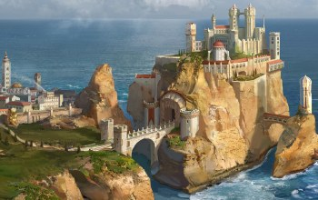 casterly rock,house lannister, a song of ice and fire,песнь льда и огня
