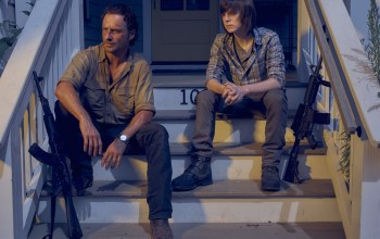 the walking dead,ходячие мертвецы,chandler riggs,Rick grimes,andrew lincoln