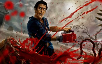 chainsaw,blood,death,guts,Evil dead,ash