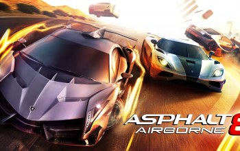game,for android,ios,Race,Asphalt 8 airborne,Гонки,lamborghini veneno