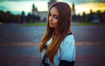 lips,Melisa,view,hair,moscow,nice,russian. model,Sunset