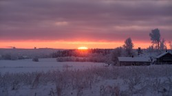 sunrise,snow,winter,morning