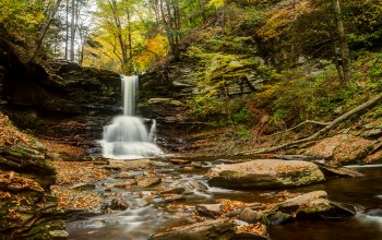 pennsylvania,Sheldon reynolds falls,Ricketts glen state park