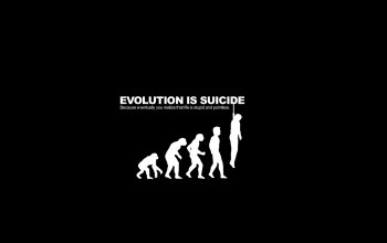 evolution,Parody,suicide