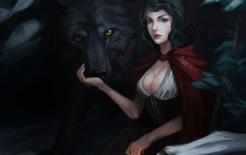 Красная шапочка,red riding hood, marilyn zhuang
