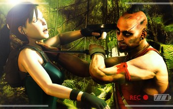 Vaas,нож,tomb raider,far cry,lara croft