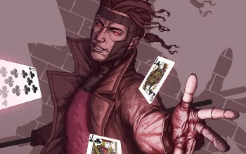 Карты,gambit,Marvel comics,mutant