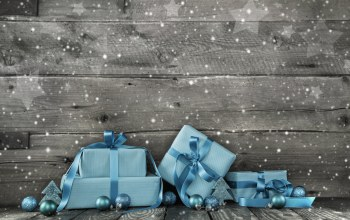 christmas,snow,рождество,decoration,wood,gifts,blue