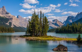 Канада,Maligne lake,jasper national park