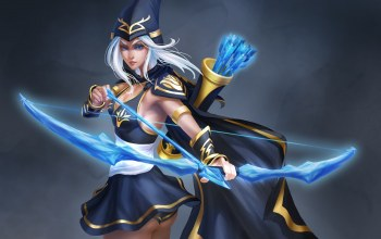 лук,league of legends,Ashe,лучница