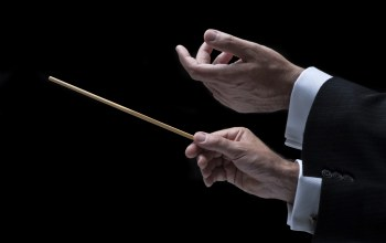 hands,Orchestra,conductor
