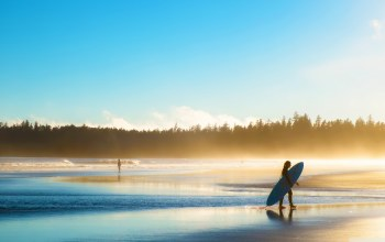 beaches,Surf ,surfboard,silhouette