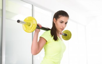 Dumbbell,yellow,look,workout