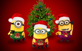 christmas,cute,Santa,xmas,Design by marika,minion,рождество