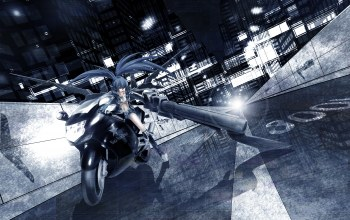 мато курои,idsuru921,Black rock shooter