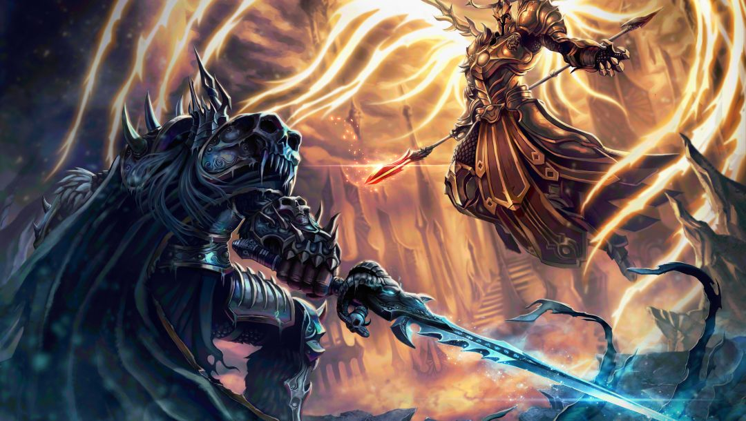 lich king,warcraft,heroes of the storm,arthas,Imperius
