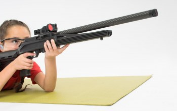 rifle,pose,girl,.22 caliber