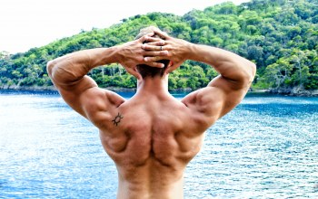bodybuilder,back,pose