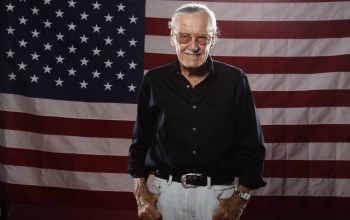 genius,stan lee,idol,flag,United states