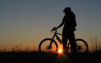 bicycle,велосипед,stands,girl