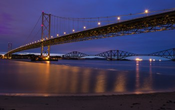 Шотландия,river,scotland,forth bridge