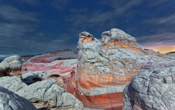 Vermilion cliffs national monument,Arizona,stars