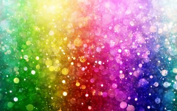 bokeh,lights,rainbow,Цвет,colorful