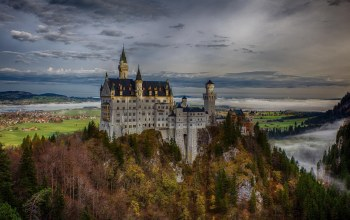 Germany,Neuschwanstein castle,замок нойшванштайн,Bavaria,бавария