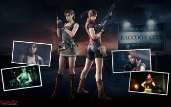 jill valentine,Resident evil,claire redfield,resident evil: operation raccoon city