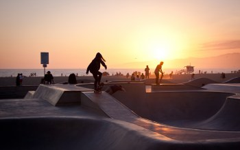 summer,Skater,venice beach,california,Sunset,los angeles