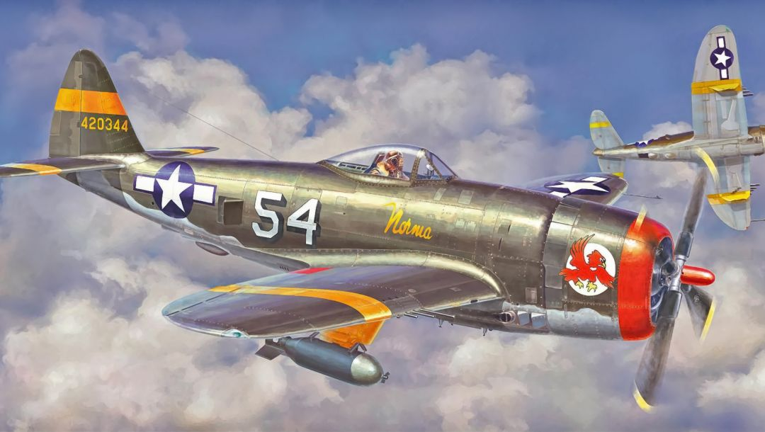 painting,aircraft,ww2,Airplane,american fighter,P 47 thunderbolt,war,aviation