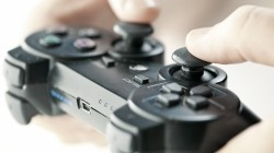 Video game controller,gamer,fingers
