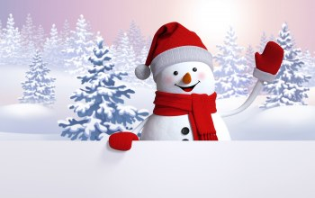 happy,Snowman,cute,snow,winter,снеговик