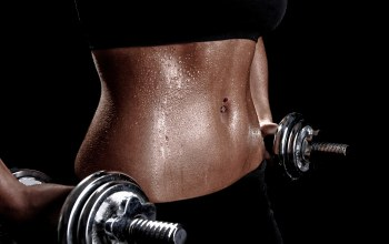 training,Weights,woman