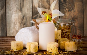 цветы,candle,wellness,soap,Spa,still life,мыло