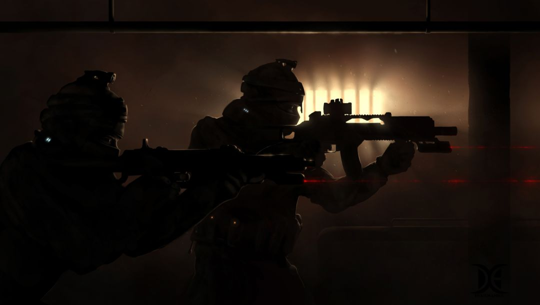 soldiers,Guns,darkness,special forces