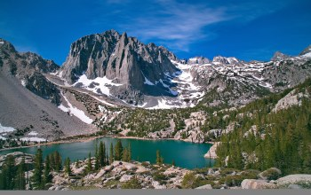 california,Temple crag,john muir wilderness,калифорния,palisades glacier,third lake