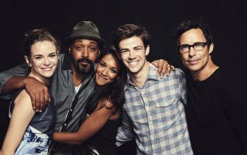 danielle panabaker,The flash,candice patton,grant gustin,jesse l. martin,thomas cavanagh