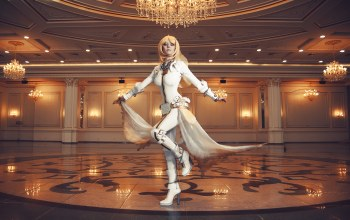 Зал,saber,cosplay,fate/stay night