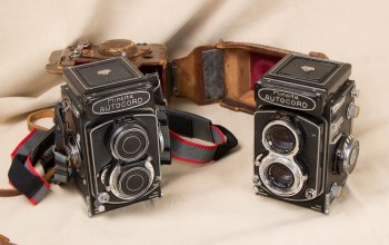 Minolta autocords,камеры