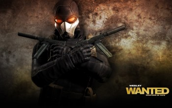 Wanted weapons of fate,glove,game wallpaper,mask,overcoast,hd,weapon,belt,gun