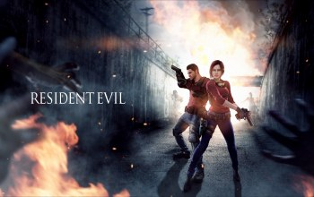 capcom,Resident evil,claire redfield,мужчина,chris redfield