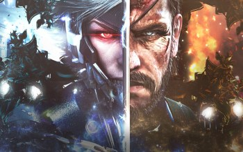 metal gear solid,raiden,metal gear rising: revengeance,Metal gear solid v: the phantom pain