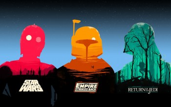 the original trilogy,bobba fett,Darth vader,c-3po