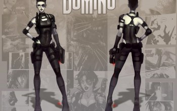 Marvel comics,Domino,neena thurman