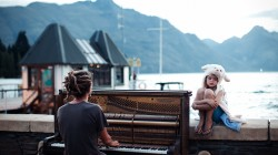 new zealand,Закат,geographic,winner,piano,national,Sunset,Queenstown,Пианино