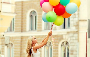 радость,счастье,happy,шарики,woman,girl,smile,balloons