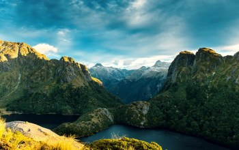 новая зеландия,скалы,fiordland national park,new zealand
