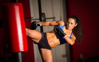 Martial arts,Kick,Women,boxing