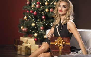 beauty,present,elegant,with,woman,box,christmas
